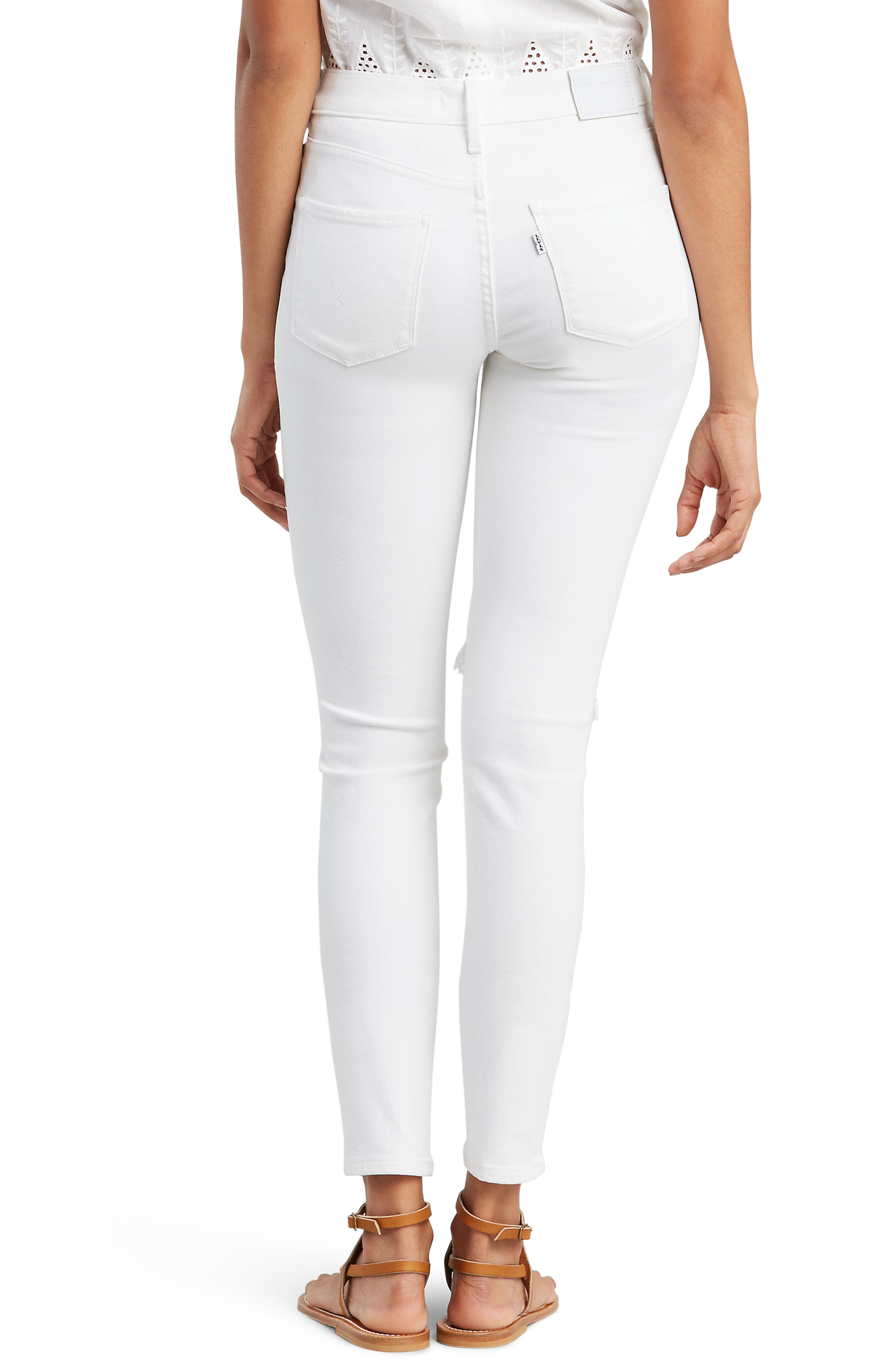 ,                             311<sup>™</sup> Shaping Skinny Jeans,                             Alternate thumbnail 2, color,                             WHITE SLATE