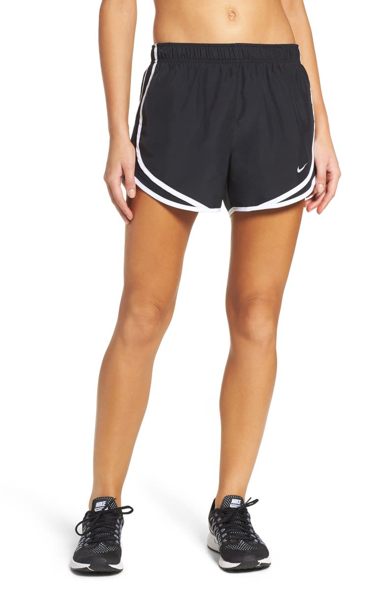 NIKE Dry Tempo Running Shorts, Main, color, BLACK/ BLACK/ WHITE/ WOLF GREY
