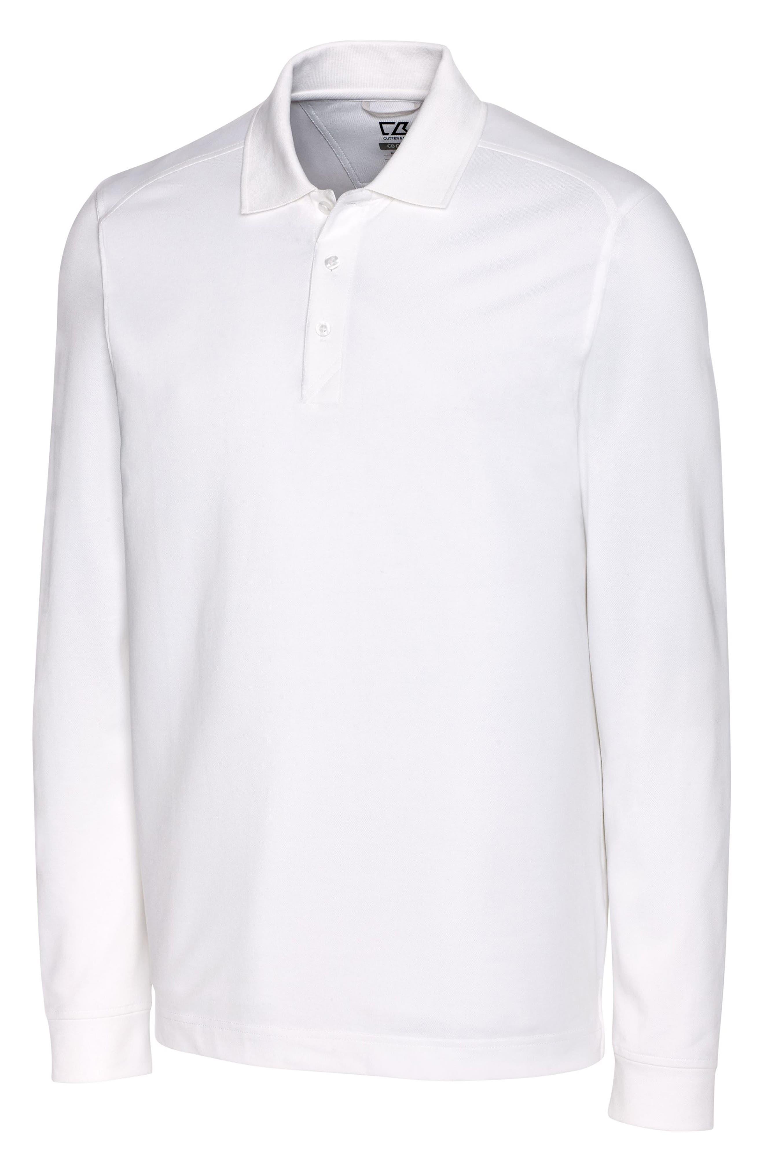 Advantage Long Sleeve Pique Performance Polo