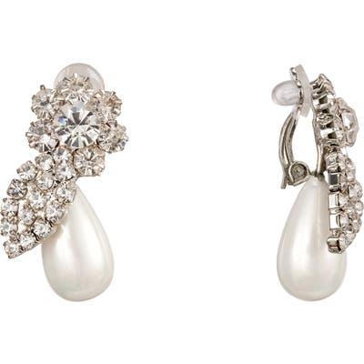 Nina Floral Imitation Pearl Earrings