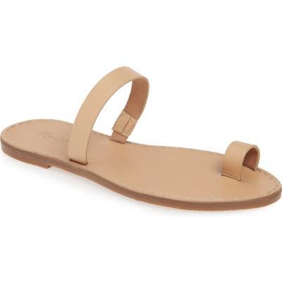Madewell The Boardwalk Bare Slide Sandal, Ivory