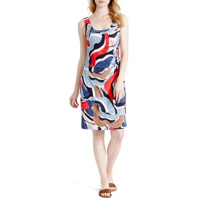 Petite Nic+Zoe Americana Sheath Dress, Red