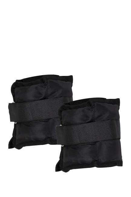 Image of Mindreader 3lb Adjustable Ankle & Wrist Weights - Set of 2