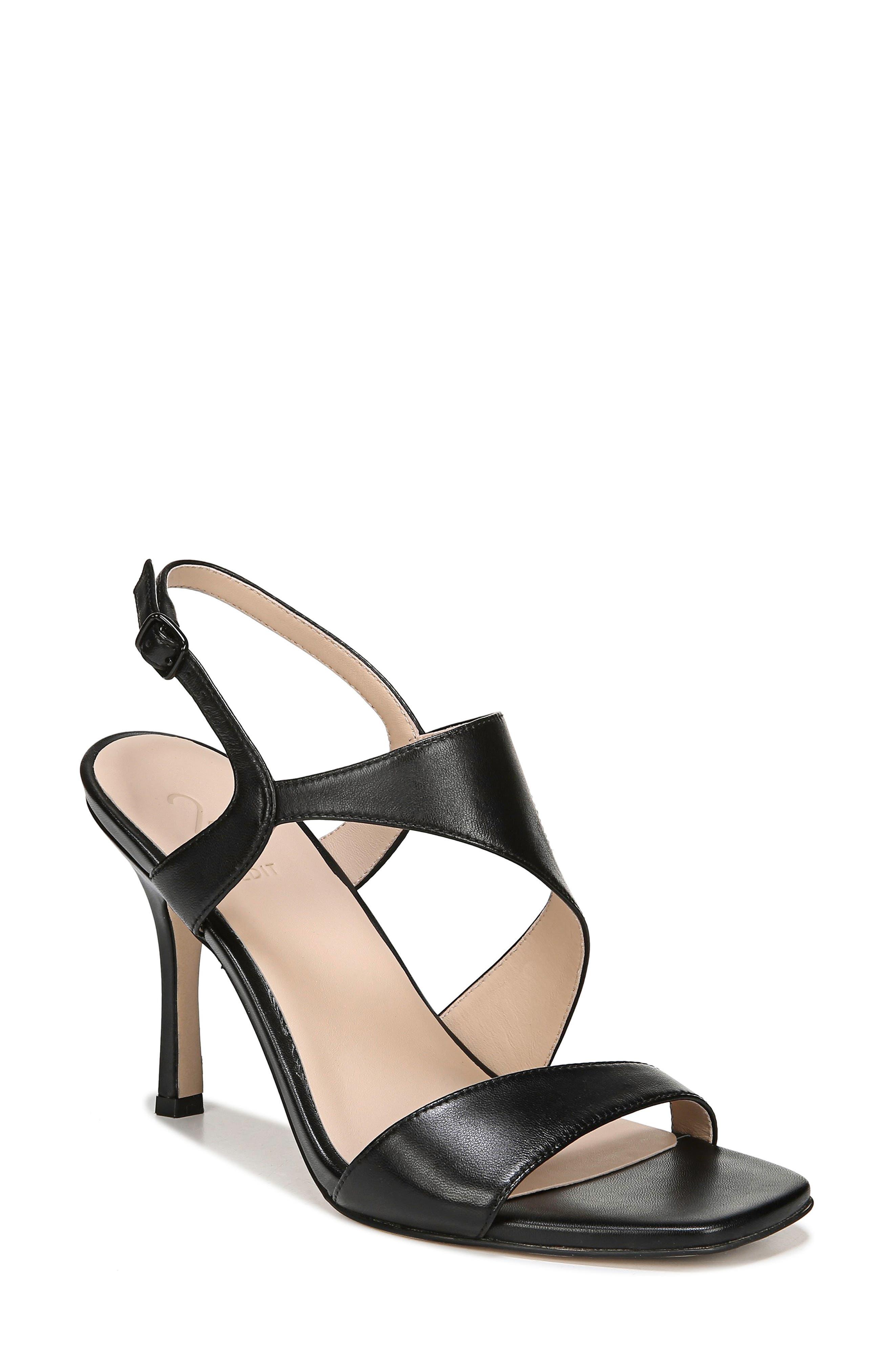 Lanie Sandal, Main, color, BLACK LEATHER