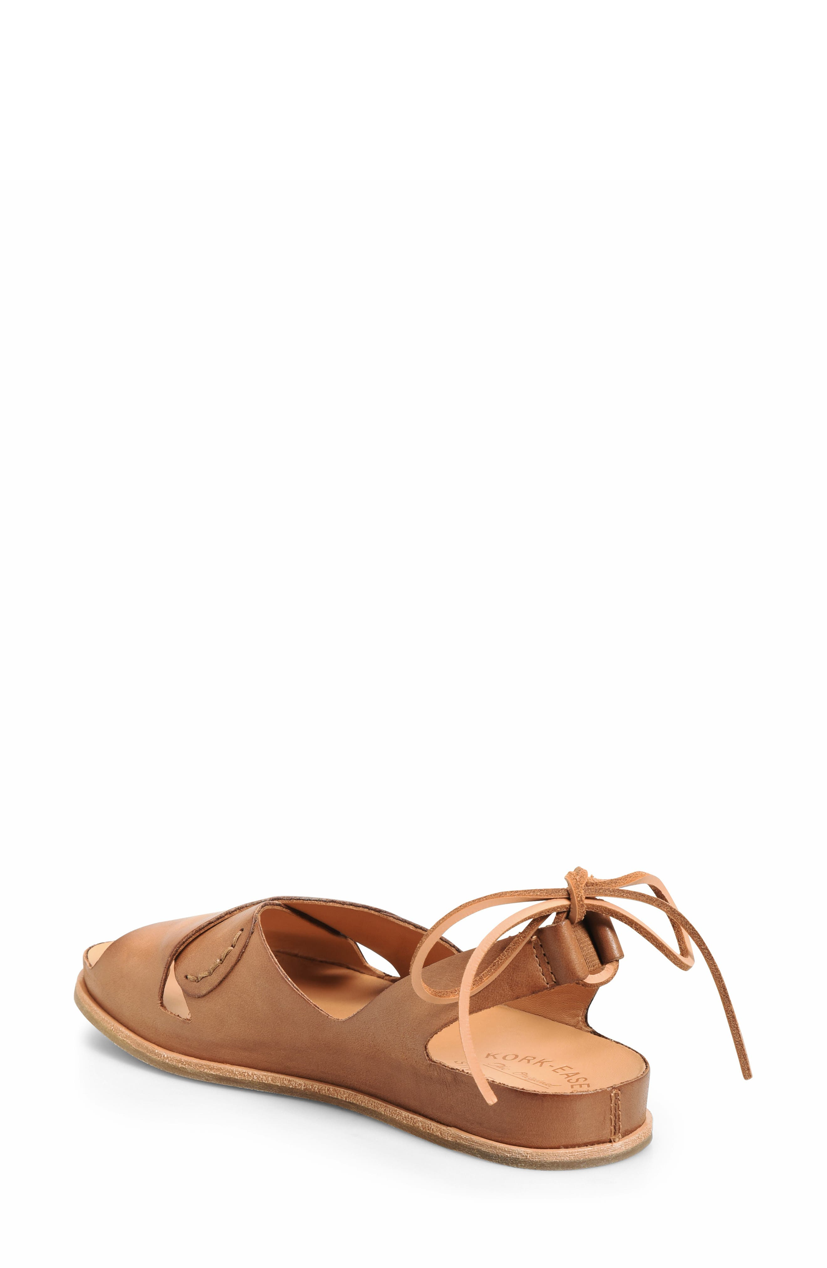,                             Aaron Sandal,                             Alternate thumbnail 2, color,                             BROWN LEATHER