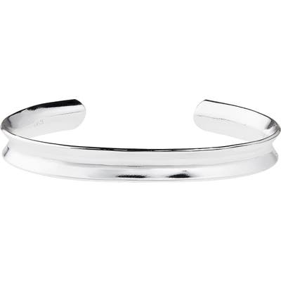 Argento Vivo Grooved Sterling Silver Cuff