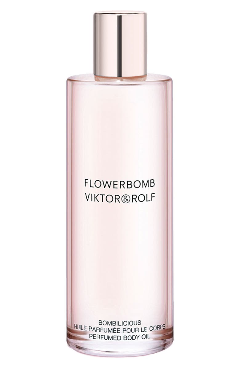 VIKTOR&ROLF 'Flowerbomb' Bomblicious Perfumed Body Oil, Main, color, 000