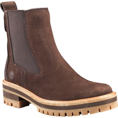 Timberland Courmayeur Valley Chelsea Boot- Brown