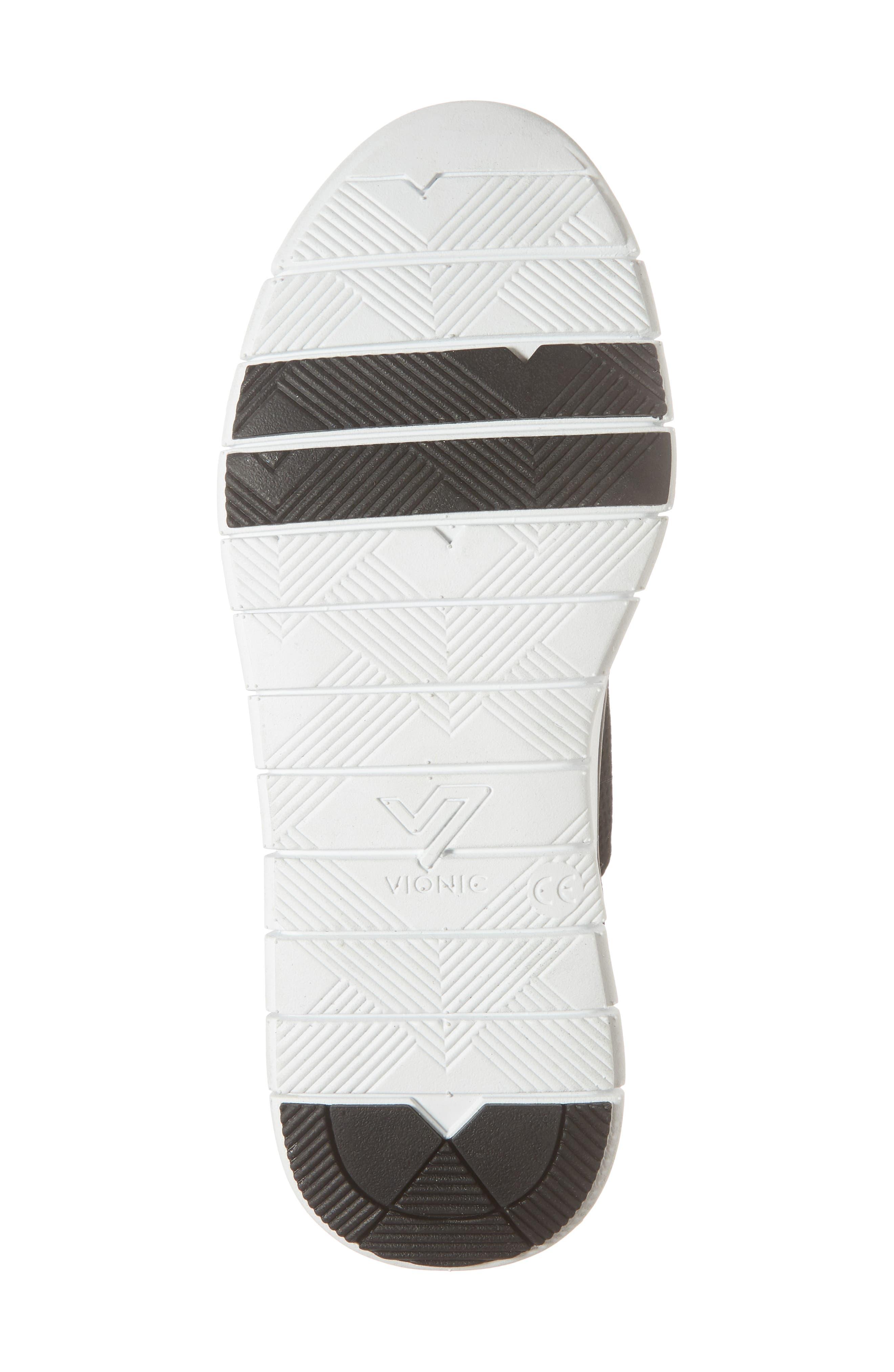 ,                             Joey Sneaker,                             Alternate thumbnail 6, color,                             BLACK NUBUCK LEATHER