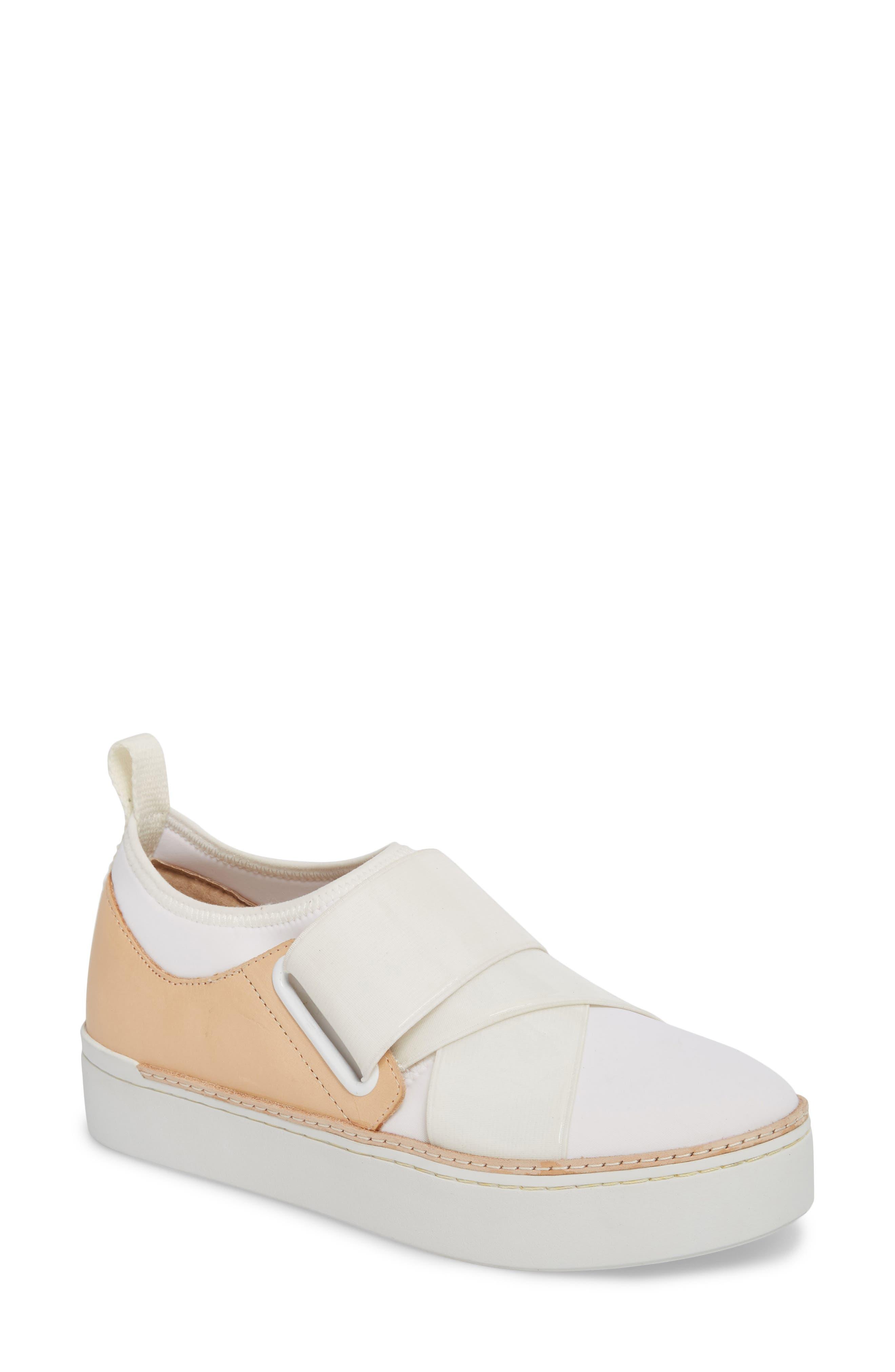 M4D3 Shannon Platform Sneaker- White