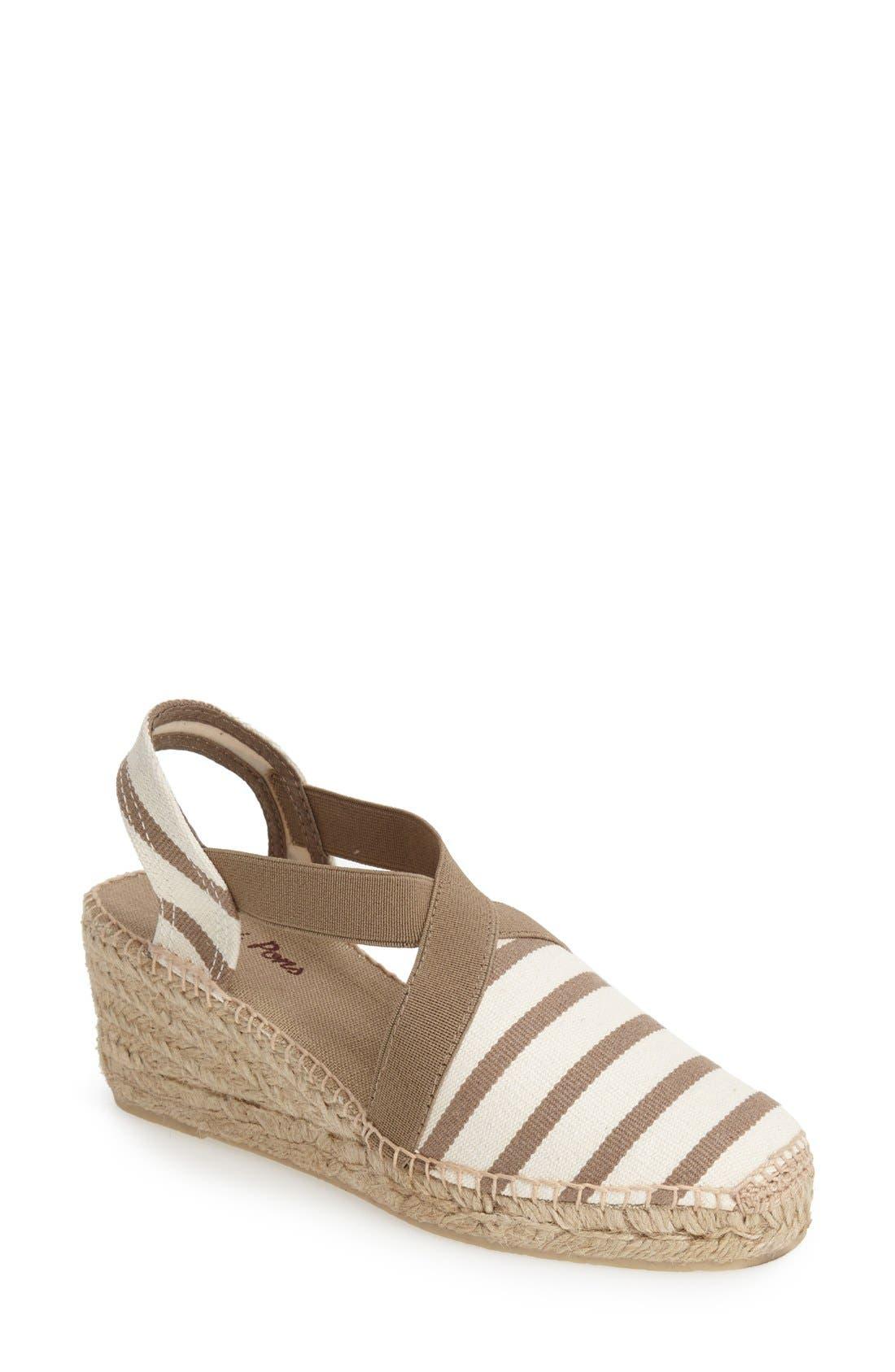 Vintage Sandals | Wedges, Espadrilles – 30s, 40s, 50s, 60s, 70s Womens Toni Pons Tarbes Espadrille Wedge Sandal Size 5.5-6US  36EU - Grey $72.00 AT vintagedancer.com