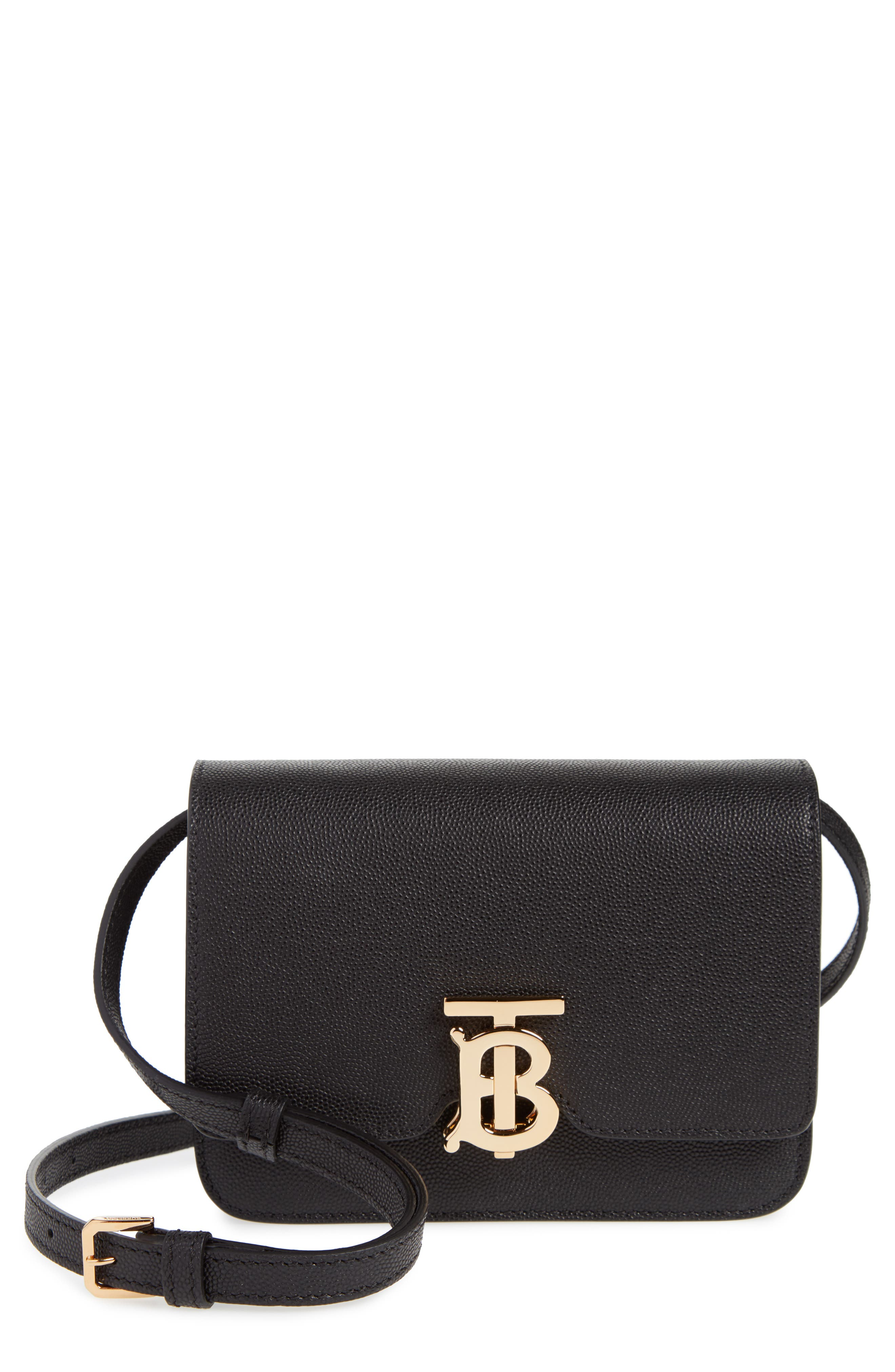 Burberry Mini TB Grainy Leather Bag | Nordstrom