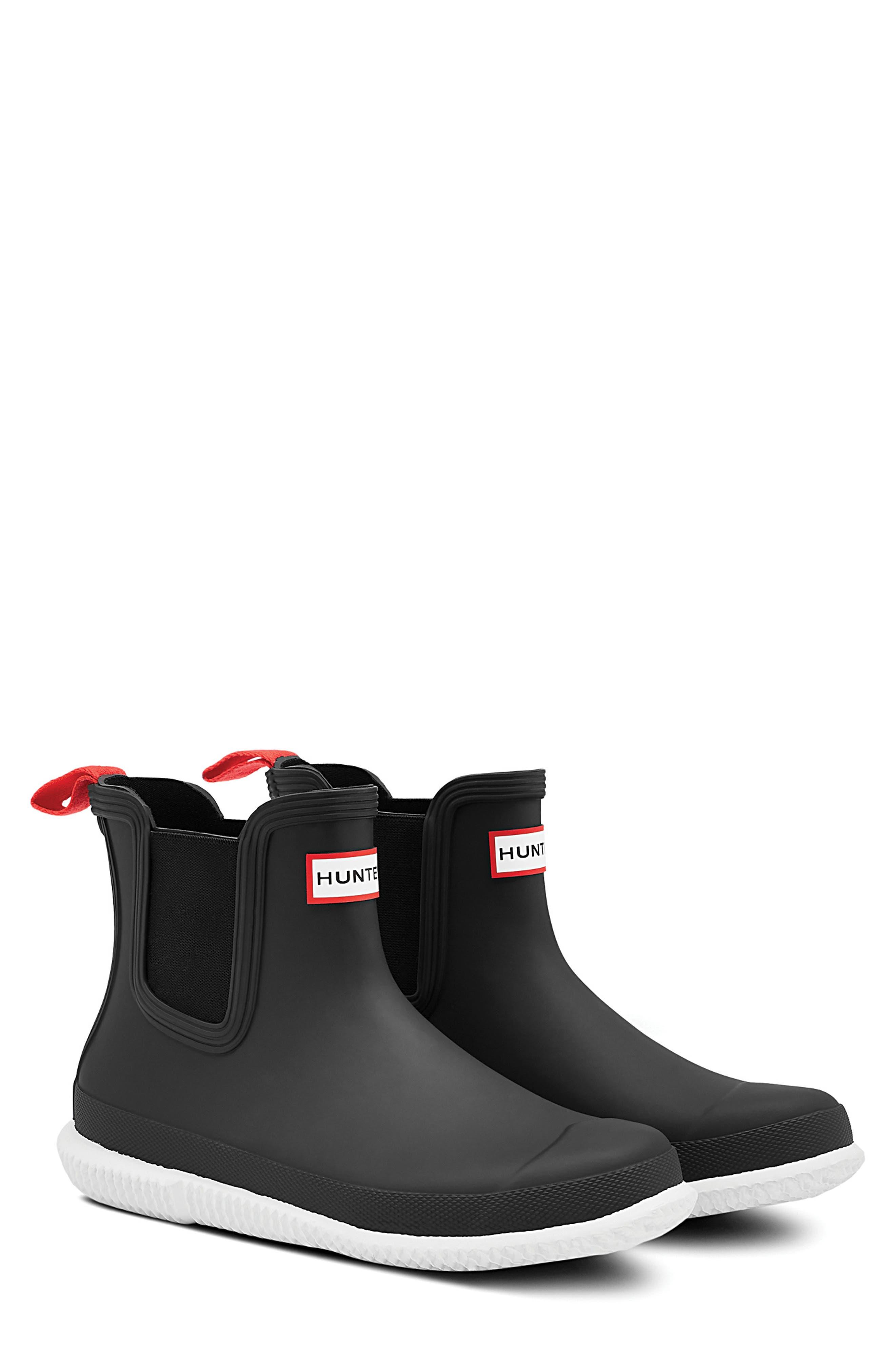 Calendar Sole Waterproof Chelsea Rain Boot