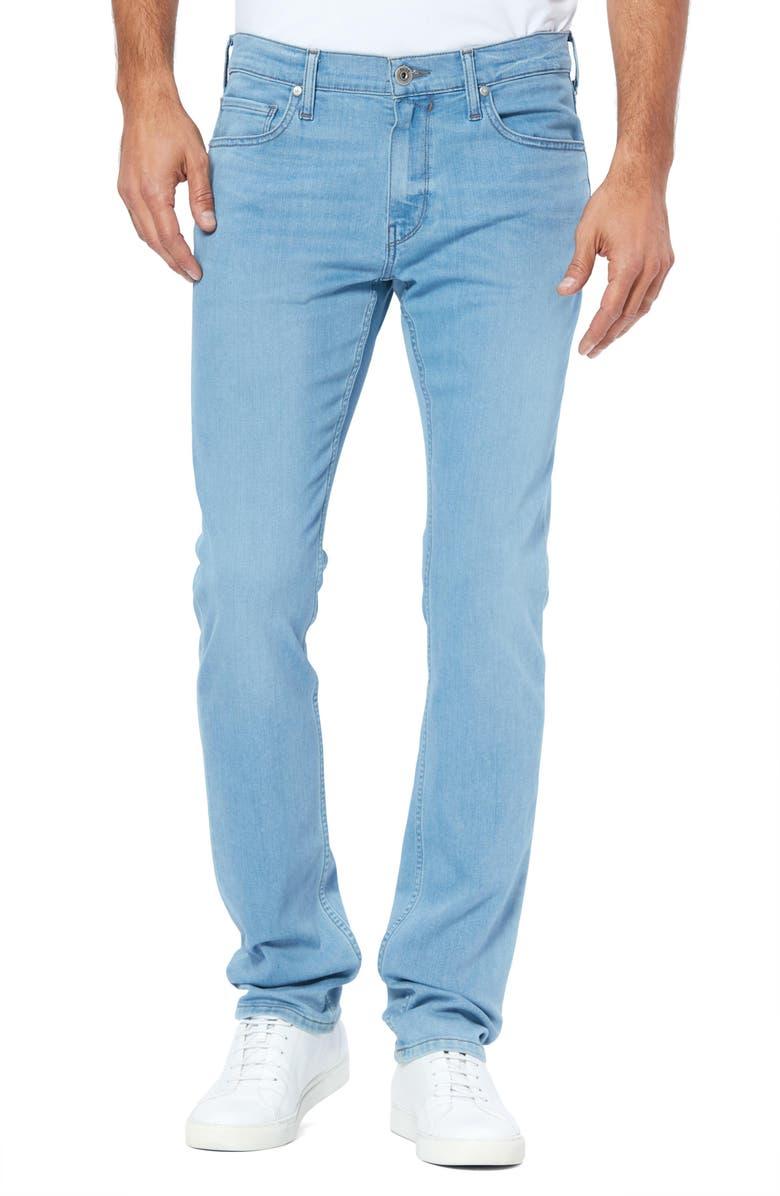 PAIGE Transcend Lennox Slim Fit Jeans, Main, color, ROSMAN