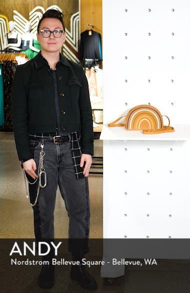 The Simple Half-Moon Rainbow Edition Leather Crossbody Bag, sales video thumbnail