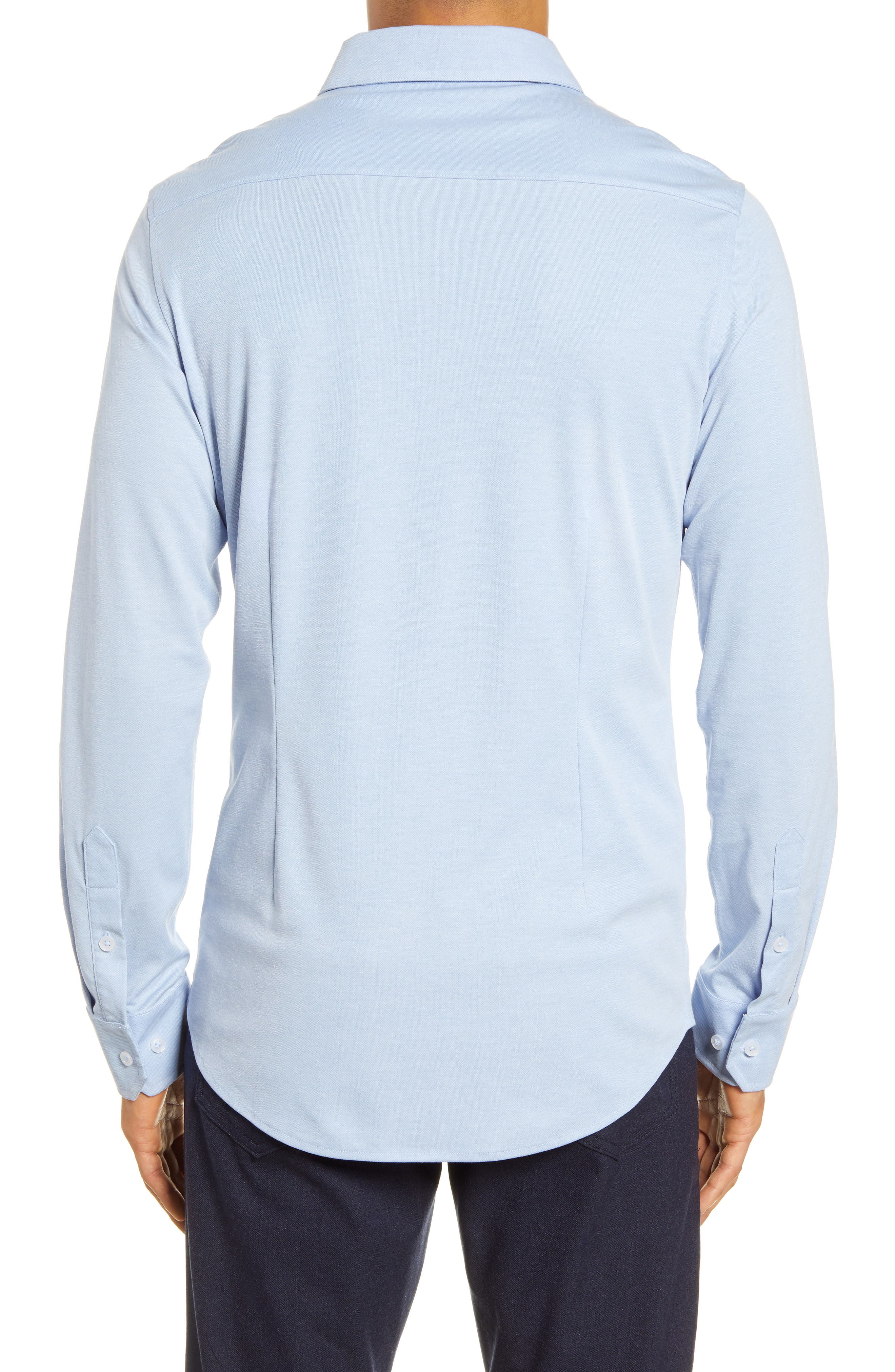 MIZZEN AND MAIN Carnegie Button-Down Performance Shirt