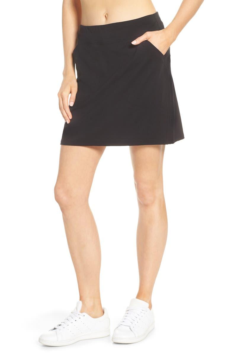 ICEBREAKER Yanni Cool-Lite<sup>™</sup> Skirt, Main, color, BLACK
