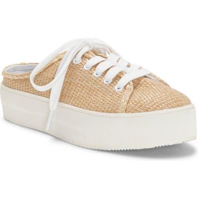 Jessica Simpson Eyden Slide Platform Sneaker, Beige