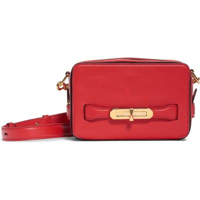 Alexander Mcqueen The Myth Small Leather Camera Bag - Red