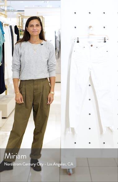 Christina Fray Hem Skinny Jeans, sales video thumbnail