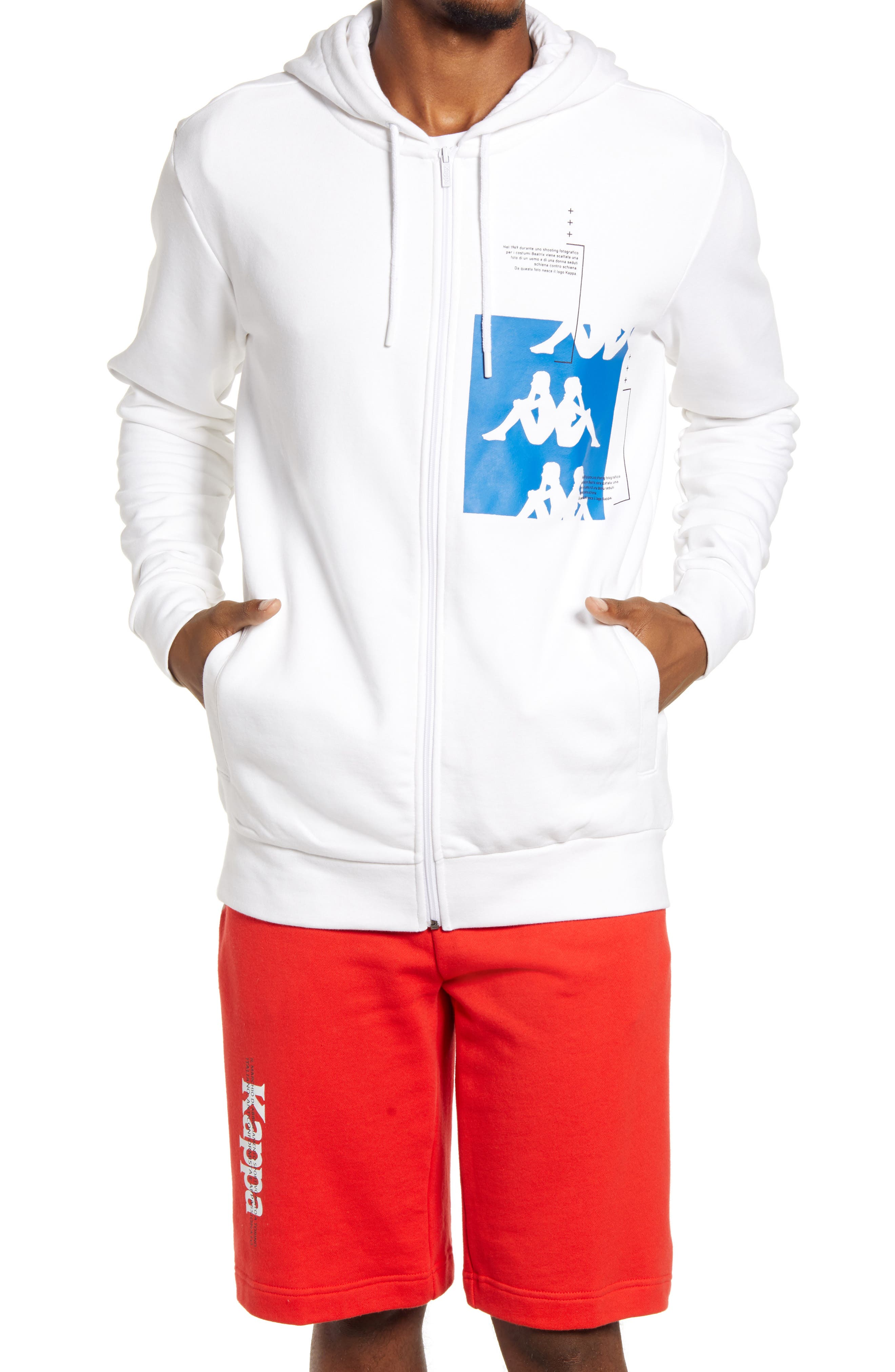 Authentic Hb Ecliss Zip Hoodie