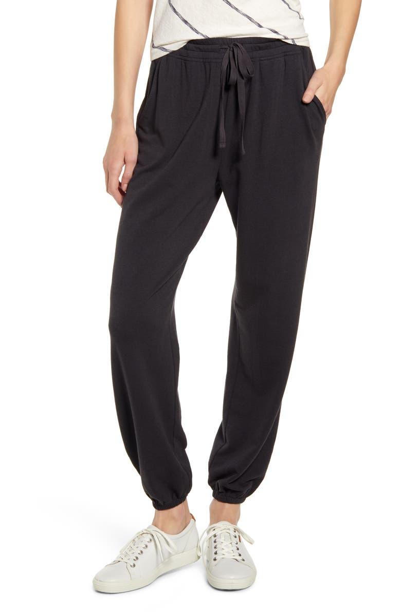 LOU & GREY Signaturesoft Plush Upstate Sweatpants, Main, color, COASTAL GREY