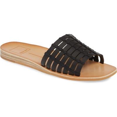 Dolce Vita Colsen Slide Sandal- Black