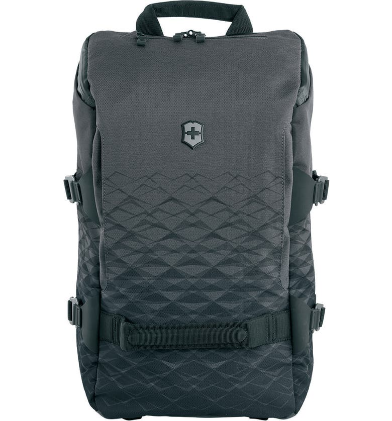 VICTORINOX SWISS ARMY<SUP>®</SUP> VX Touring Backpack, Main, color, ANTHRACITE
