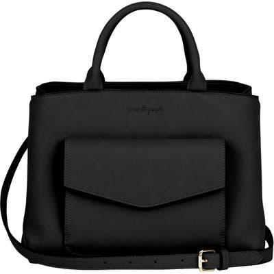 Urban Originals Spirit Vegan Leather Satchel - Black