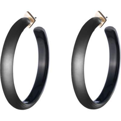 Alexis Bittar Large Lucite Hoop Earrings