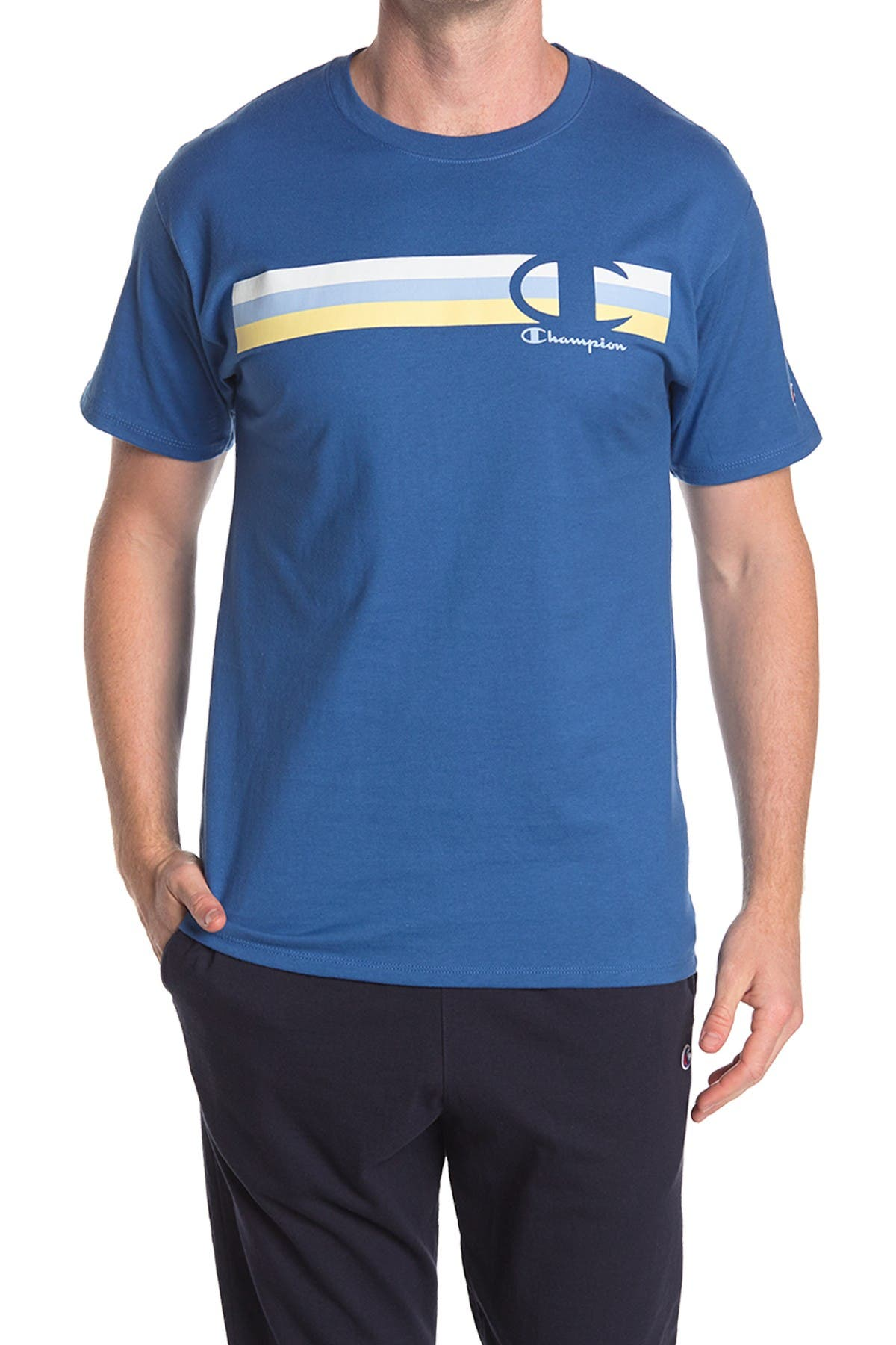 Image of Champion Graphic Crew Neck T-Shirt