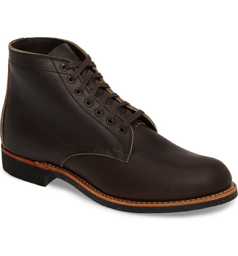 RED WING Merchant Boot, Main, color, EBONY HARNESS LEATHER