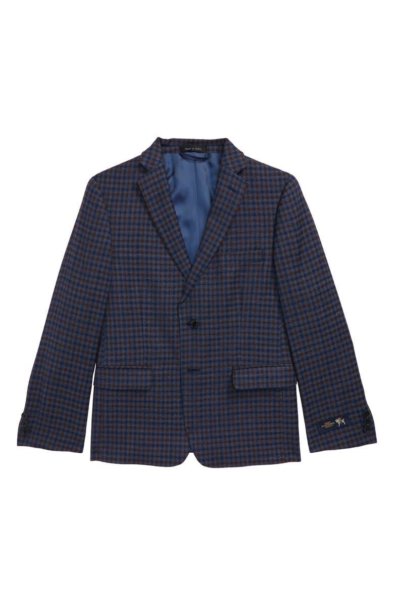 HART SCHAFFNER MARX Wool Sport Coat, Main, color, MEDIUM BLUE