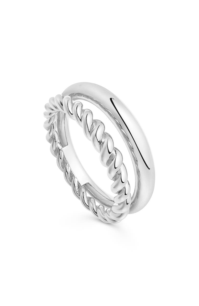 MISSOMA Radial Ring, Main, color, SILVER