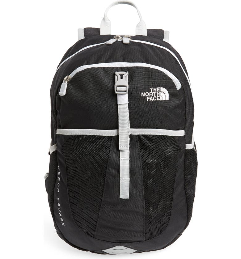 THE NORTH FACE Recon Squash Backpack, Main, color, TNF BLACK/ HIGH RISE GREY