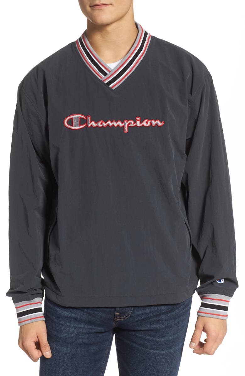 CHAMPION Scout Pullover, Main, color, BLACK