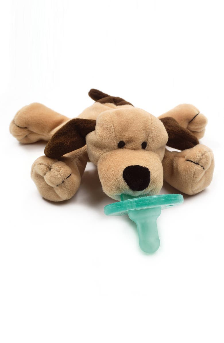 WUBBANUB<SUP>™</SUP> Pacifier Toy, Main, color, BROWN PUPPY