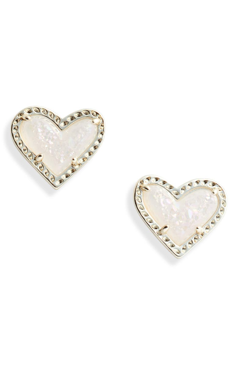 Ari Heart Stud Earrings by Kendra Scott
