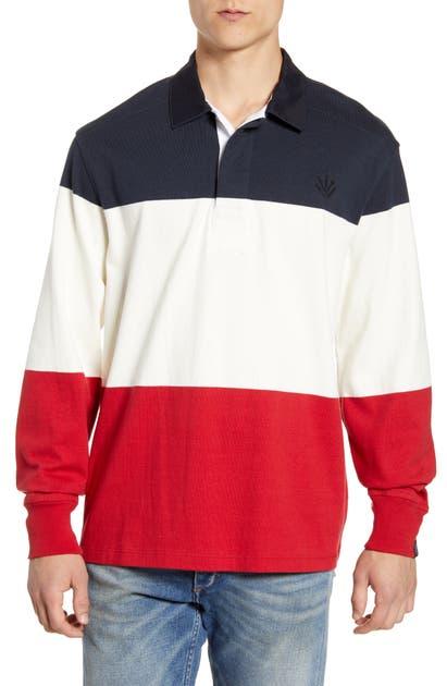 Rag & Bone T-shirts COLORBLOCK RUGBY SHIRT