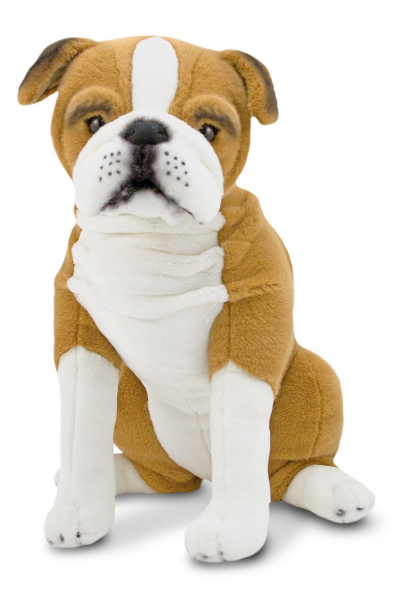 MELISSA & DOUG Oversized English Bulldog, Main, color, BROWN