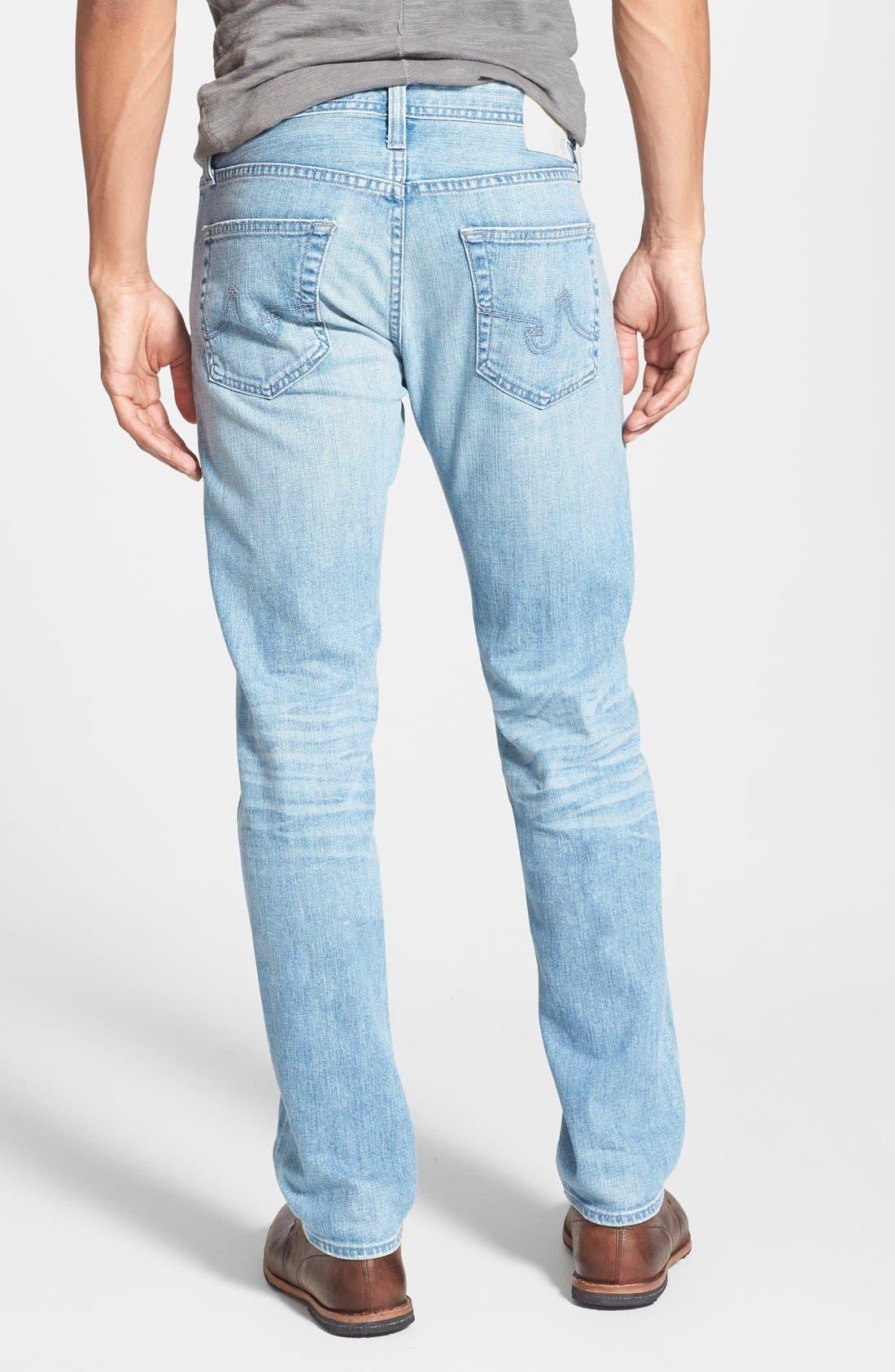 ,                             'Dylan' Slim Skinny Leg Jeans,                             Alternate thumbnail 9, color,                             457