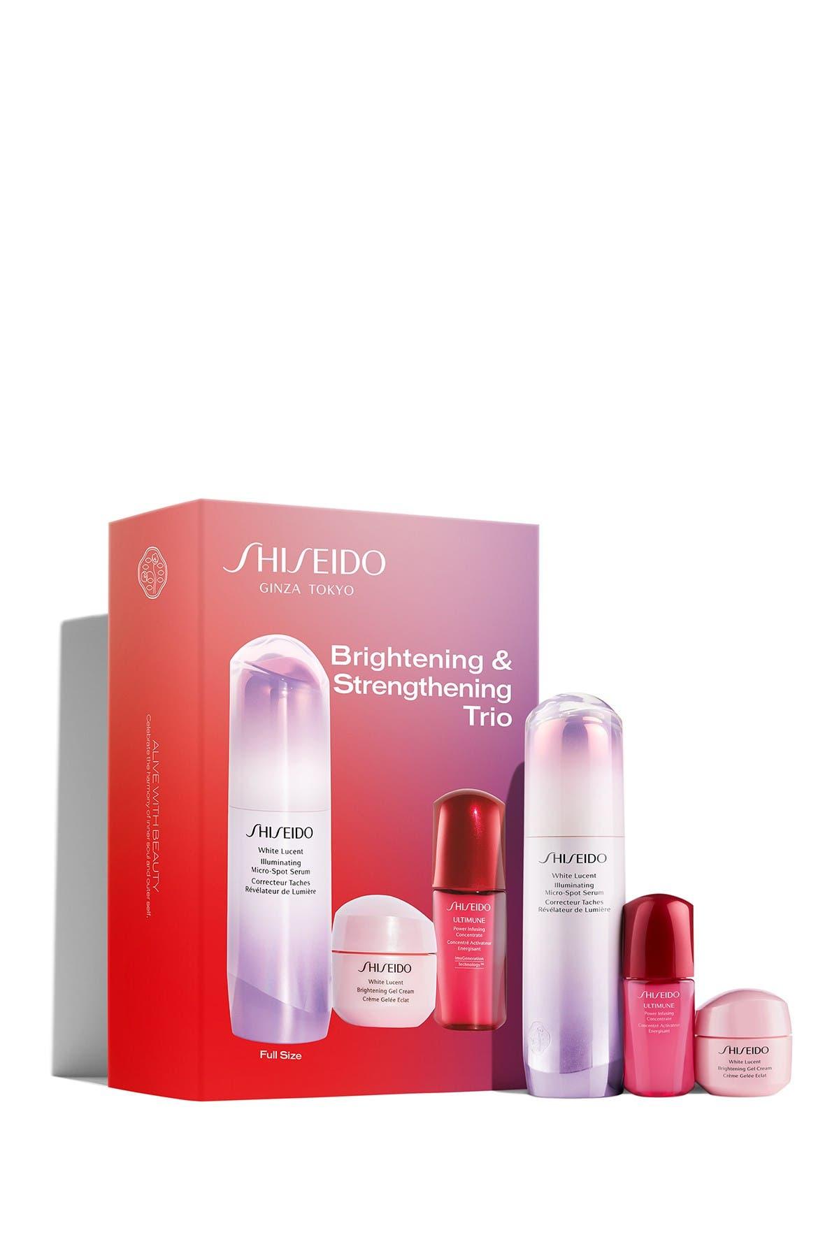 Image of Shiseido Ginza Tokyo Brightening + Strengthening Trio