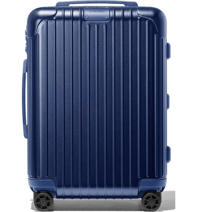 RIMOWA Essential Cabin 22-Inch Wheeled Carry-On, Main, color, MATTE BLUE