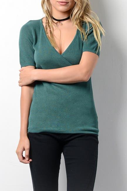 Image of Wishlist V-Neck Short Sleeve Top