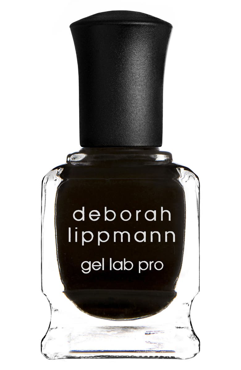 DEBORAH LIPPMANN Gel Lab Pro Nail Color, Main, color, FADE TO BLACK