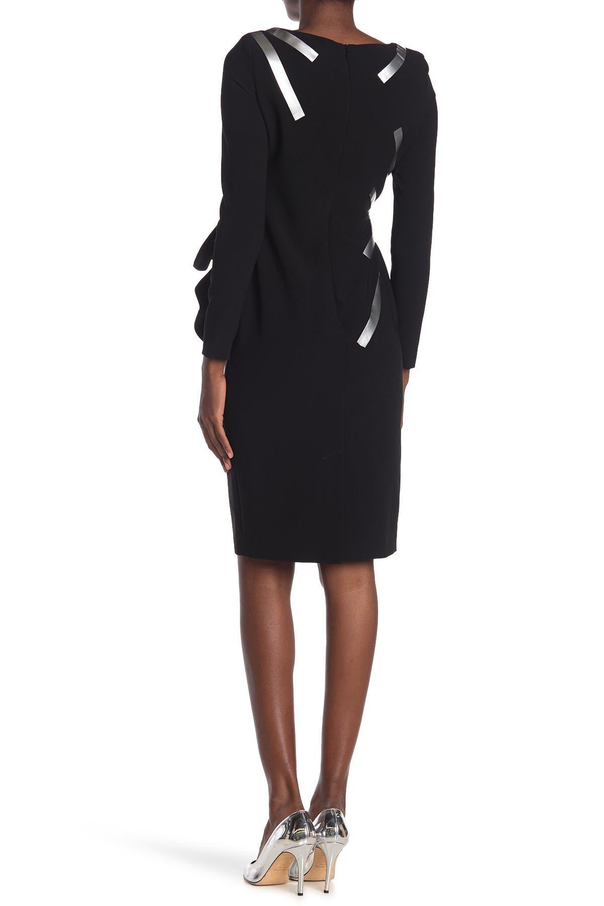 Image of MOSCHINO Ruffle Starburst Dress