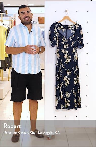 Matin Ruched Neck Midi Dress, sales video thumbnail