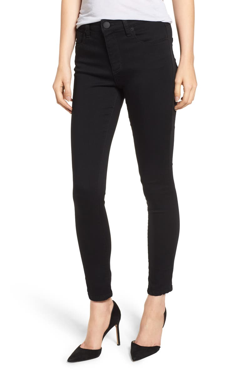 STS BLUE Ellie High Rise Jeggings, Main, color, BLACK JM