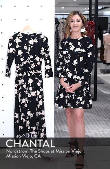 Ruched Waist Midi Dress, sales video thumbnail