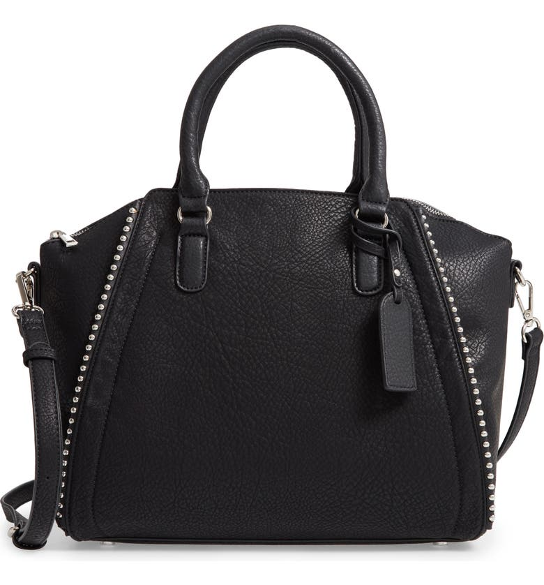 SOLE SOCIETY Eytal Faux Leather Tote, Main, color, 001